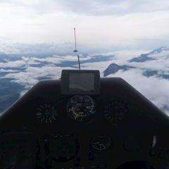 Flugwegposition um 12:30:34: Aufgenommen in der Nähe von Mitterberg-Sankt Martin, Österreich in 2544 Meter