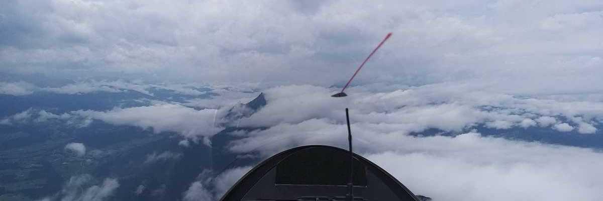 Flugwegposition um 11:46:05: Aufgenommen in der Nähe von Mitterberg-Sankt Martin, Österreich in 2337 Meter