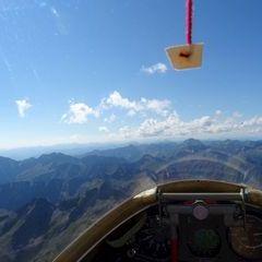 Flugwegposition um 13:01:39: Aufgenommen in der Nähe von Kleinsölk, 8961, Österreich in 2853 Meter