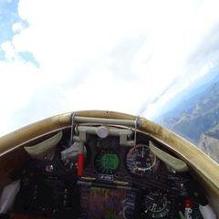 Flugwegposition um 13:15:26: Aufgenommen in der Nähe von Gemeinde Mariapfarr, Österreich in 3026 Meter