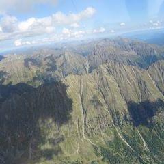 Flugwegposition um 13:15:31: Aufgenommen in der Nähe von Gemeinde Mariapfarr, Österreich in 3025 Meter