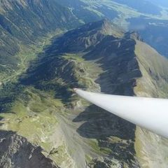 Flugwegposition um 13:15:33: Aufgenommen in der Nähe von Gemeinde Mariapfarr, Österreich in 3020 Meter