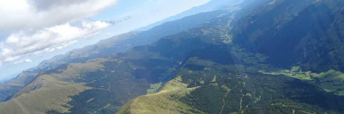Flugwegposition um 12:26:22: Aufgenommen in der Nähe von Bretstein, 8763, Österreich in 2489 Meter