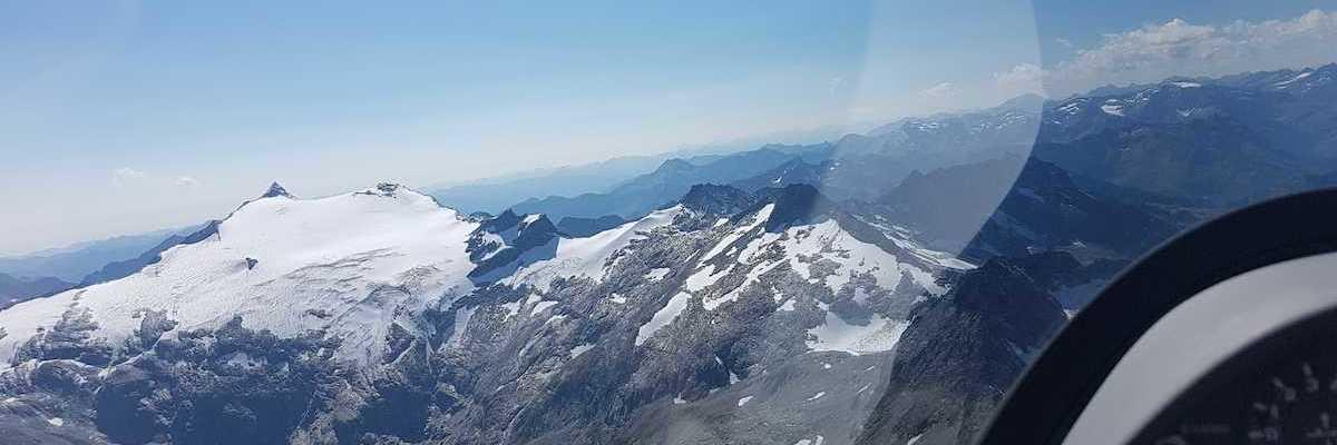 Flugwegposition um 12:34:20: Aufgenommen in der Nähe von Gemeinde Hüttschlag, 5612, Österreich in 3027 Meter