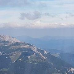 Flugwegposition um 09:33:45: Aufgenommen in der Nähe von Gemeinde Bürg-Vöstenhof, 2630, Österreich in 2049 Meter