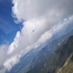 Flugwegposition um 12:10:40: Aufgenommen in der Nähe von Donnersbach, Österreich in 2209 Meter