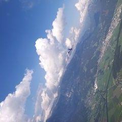 Flugwegposition um 13:34:47: Aufgenommen in der Nähe von Gemeinde Aigen im Ennstal, Österreich in 1939 Meter