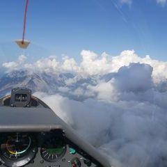 Flugwegposition um 13:38:08: Aufgenommen in der Nähe von Gemeinde Reith bei Seefeld, Österreich in 2371 Meter