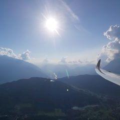 Flugwegposition um 15:39:30: Aufgenommen in der Nähe von Gemeinde Reith bei Seefeld, Österreich in 1761 Meter