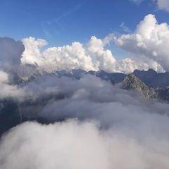 Flugwegposition um 13:38:50: Aufgenommen in der Nähe von Gemeinde Seefeld in Tirol, Seefeld in Tirol, Österreich in 2307 Meter