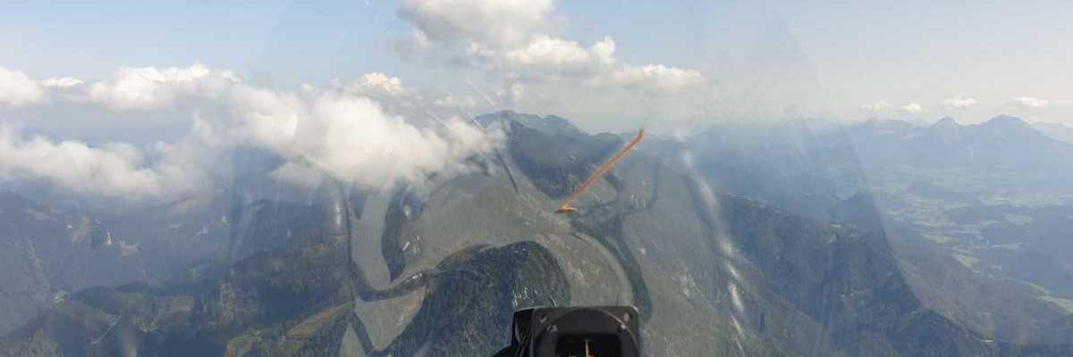 Flugwegposition um 12:28:52: Aufgenommen in der Nähe von Gemeinde Klaus an der Pyhrnbahn, Österreich in 1699 Meter