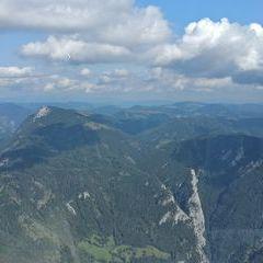 Flugwegposition um 12:49:33: Aufgenommen in der Nähe von Gemeinde Pernegg an der Mur, Österreich in 1711 Meter