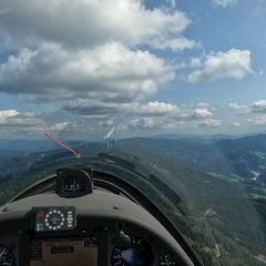 Verortung via Georeferenzierung der Kamera: Aufgenommen in der Nähe von Kindberg, Österreich in 1800 Meter