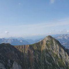 Flugwegposition um 12:50:13: Aufgenommen in der Nähe von Hafning bei Trofaiach, Österreich in 1986 Meter