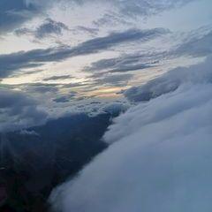 Flugwegposition um 17:05:06: Aufgenommen in der Nähe von Gemeinde Mariapfarr, Österreich in 3004 Meter