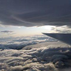 Flugwegposition um 16:07:55: Aufgenommen in der Nähe von Gemeinde Unternberg, 5585, Österreich in 4425 Meter