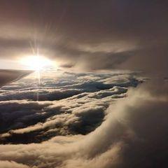 Flugwegposition um 16:19:17: Aufgenommen in der Nähe von Predlitz-Turrach, Österreich in 3923 Meter