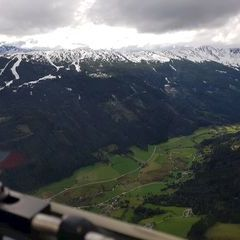 Flugwegposition um 14:12:20: Aufgenommen in der Nähe von Gemeinde Weißpriach, 5573, Österreich in 1961 Meter