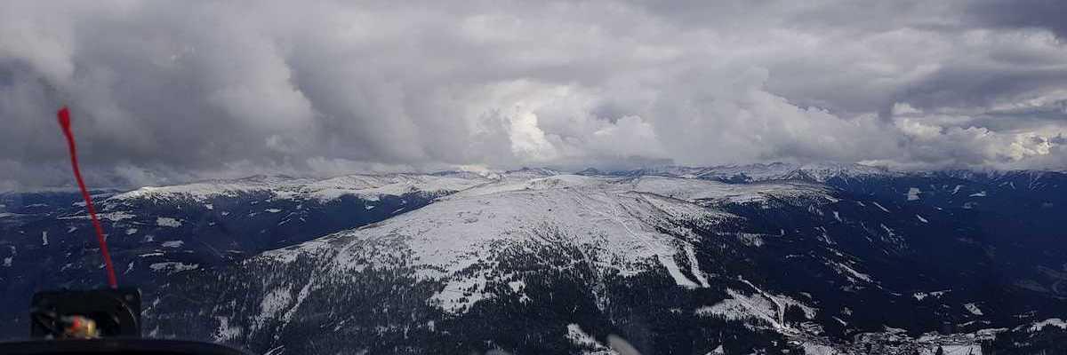 Flugwegposition um 13:34:10: Aufgenommen in der Nähe von Gemeinde St. Michael im Lungau, 5582, Österreich in 2380 Meter