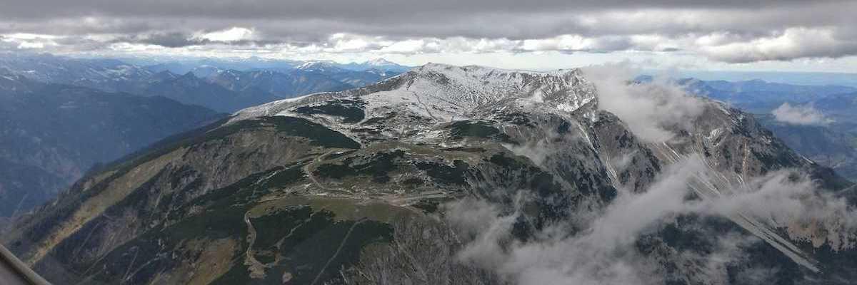 Verortung via Georeferenzierung der Kamera: Aufgenommen in der Nähe von Gemeinde Puchberg am Schneeberg, Österreich in 2200 Meter
