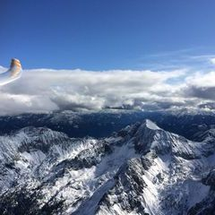 Flugwegposition um 13:12:25: Aufgenommen in der Nähe von Gemeinde Spital am Pyhrn, 4582, Österreich in 2378 Meter