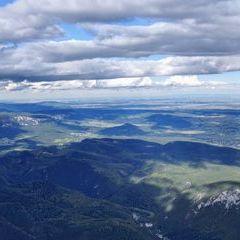 Flugwegposition um 14:14:52: Aufgenommen in der Nähe von Gemeinde Bürg-Vöstenhof, 2630, Österreich in 1775 Meter