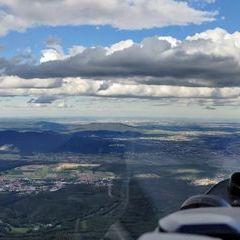 Flugwegposition um 14:26:43: Aufgenommen in der Nähe von Gemeinde Hernstein, 2560, Österreich in 1303 Meter