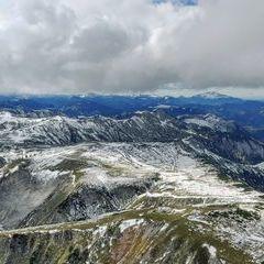 Flugwegposition um 12:54:17: Aufgenommen in der Nähe von Altenberg an der Rax, Österreich in 2131 Meter