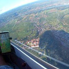 Flugwegposition um 15:02:13: Aufgenommen in der Nähe von Gemeinde Furth bei Göttweig, 3511 Furth bei Göttweig, Österreich in 965 Meter