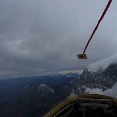 Flugwegposition um 09:56:15: Aufgenommen in der Nähe von Gemeinde Ramsau am Dachstein, 8972, Österreich in 2843 Meter