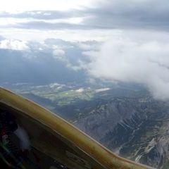 Flugwegposition um 08:33:58: Aufgenommen in der Nähe von Weng im Gesäuse, 8913, Österreich in 2618 Meter