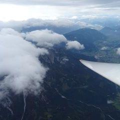 Flugwegposition um 08:48:09: Aufgenommen in der Nähe von Admont, Österreich in 3344 Meter