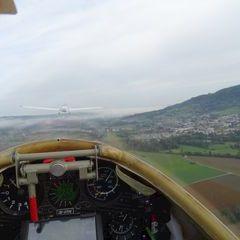 Flugwegposition um 07:17:49: Aufgenommen in der Nähe von Gemeinde Micheldorf in Oberösterreich, Österreich in 761 Meter