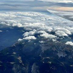 Flugwegposition um 14:48:16: Aufgenommen in der Nähe von Gemeinde Reichenau an der Rax, Österreich in 3815 Meter