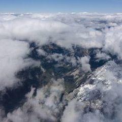 Flugwegposition um 12:01:01: Aufgenommen in der Nähe von Gußwerk, Österreich in 2923 Meter