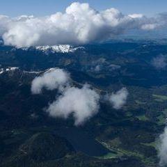Flugwegposition um 12:14:23: Aufgenommen in der Nähe von Gußwerk, Österreich in 3485 Meter