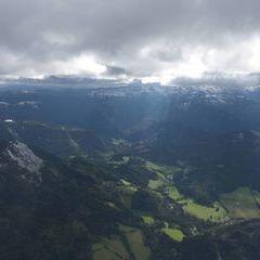 Flugwegposition um 12:25:31: Aufgenommen in der Nähe von Gußwerk, Österreich in 3700 Meter