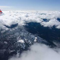 Flugwegposition um 11:06:17: Aufgenommen in der Nähe von St. Sebastian, Österreich in 898 Meter