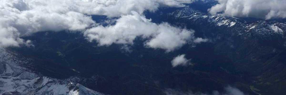 Flugwegposition um 11:06:12: Aufgenommen in der Nähe von St. Sebastian, Österreich in 898 Meter
