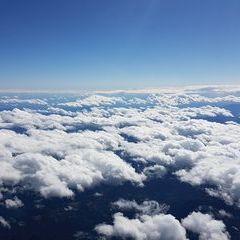 Flugwegposition um 11:09:24: Aufgenommen in der Nähe von Mürzsteg, Österreich in 5317 Meter