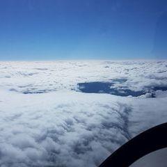 Flugwegposition um 12:07:00: Aufgenommen in der Nähe von Gemeinde Thörl, Österreich in 5481 Meter