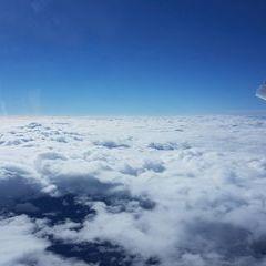 Flugwegposition um 12:21:45: Aufgenommen in der Nähe von Gemeinde Neuberg an der Mürz, 8692, Österreich in 5240 Meter