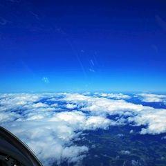 Flugwegposition um 09:19:10: Aufgenommen in der Nähe von Gemeinde Bad St. Leonhard im Lavanttal, Österreich in 5124 Meter