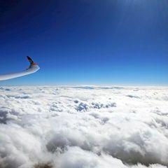 Flugwegposition um 10:30:56: Aufgenommen in der Nähe von Michaelerberg, Österreich in 5673 Meter