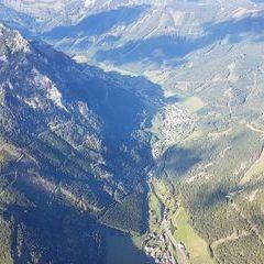 Verortung via Georeferenzierung der Kamera: Aufgenommen in der Nähe von Hafning bei Trofaiach, Österreich in 2000 Meter
