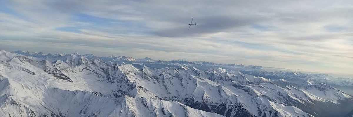 Flugwegposition um 15:21:21: Aufgenommen in der Nähe von Gemeinde Navis, Navis, Österreich in 3800 Meter