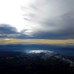 Flugwegposition um 12:45:26: Aufgenommen in der Nähe von Trahütten, 8530 Trahütten, Österreich in 4125 Meter