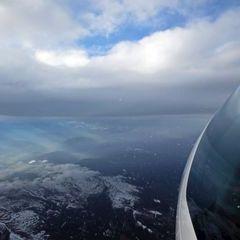 Flugwegposition um 14:14:16: Aufgenommen in der Nähe von Gemeinde Reichenfels, Reichenfels, Österreich in 4300 Meter