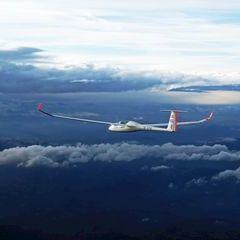Flugwegposition um 14:54:37: Aufgenommen in der Nähe von Trahütten, 8530 Trahütten, Österreich in 4415 Meter
