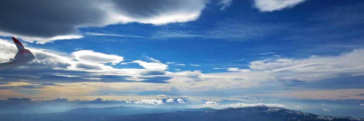 Flugwegposition um 12:03:57: Aufgenommen in der Nähe von Stainz, Österreich in 3183 Meter
